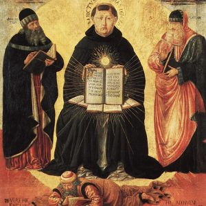 Aquinas natural law painting