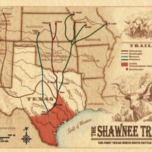 Shawnee Trail Map Image