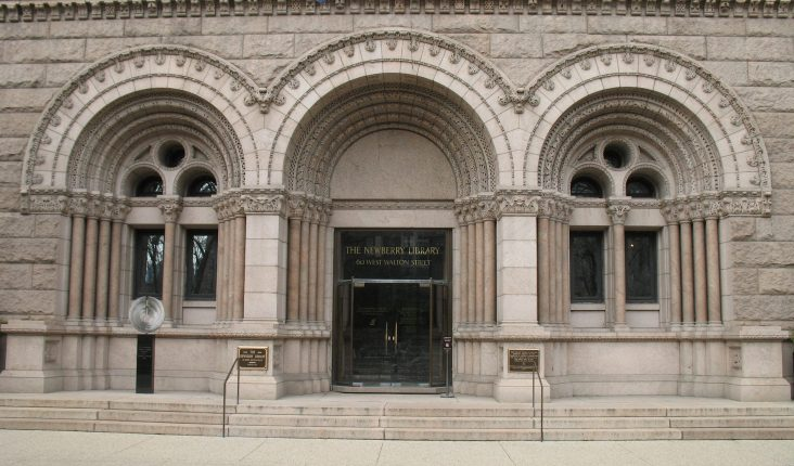 Entrance to the Newberry Library