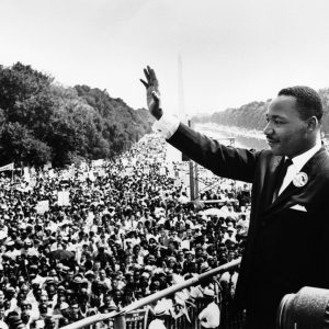Martin Luther King Jr on national mall