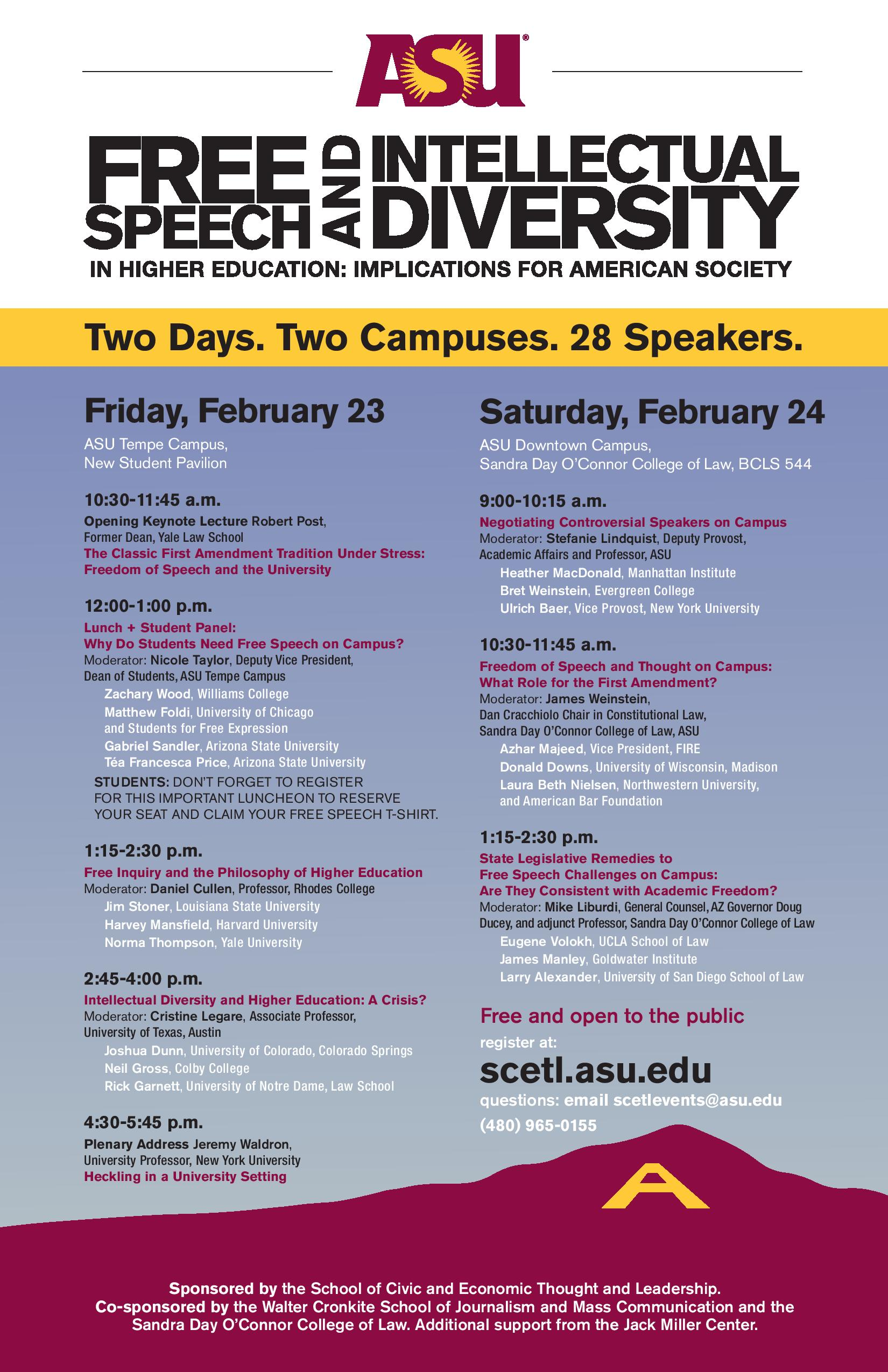 SCETL conference flyer