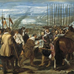 Painting by Velazquez: The Surrender of Breda