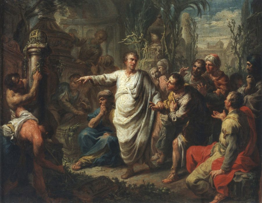 Painting of Cicero, political rhetoric