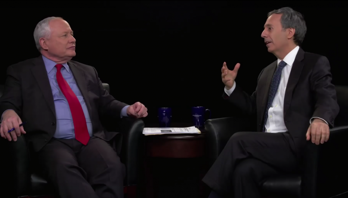 Bill Kristol and Pter Berkowitz
