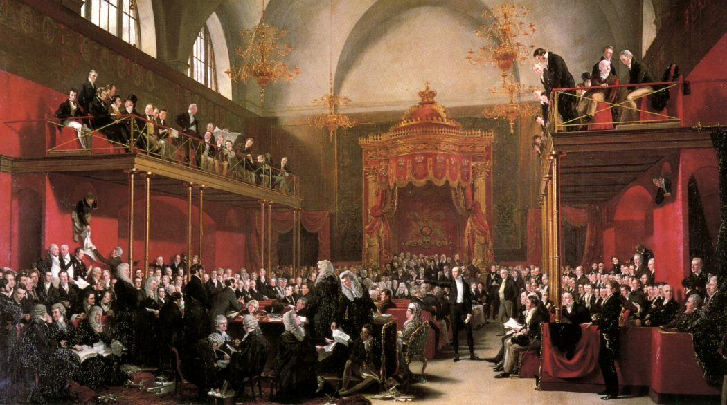 Parliament painting