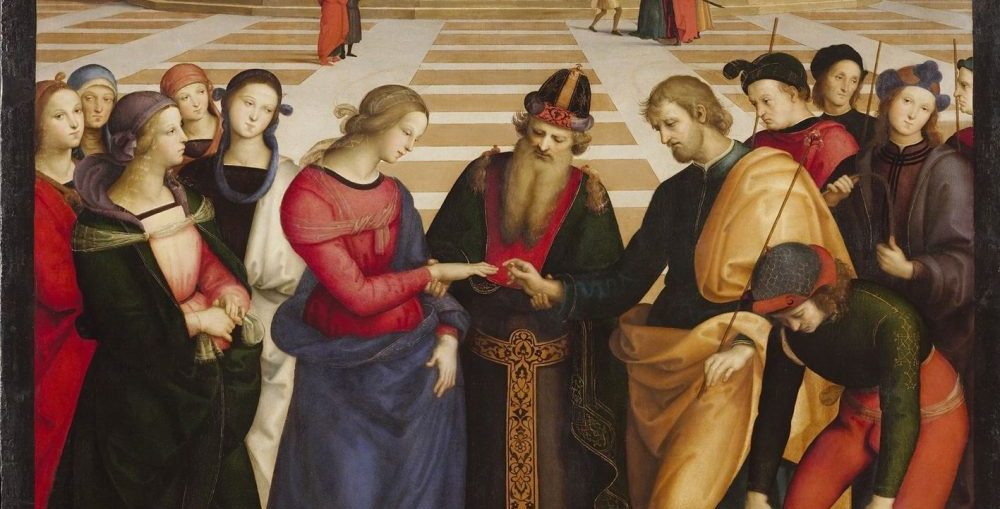 Raphael marriage painting
