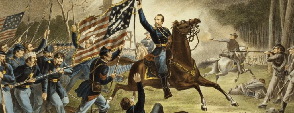 General Kearny Battle of Chantilly painting