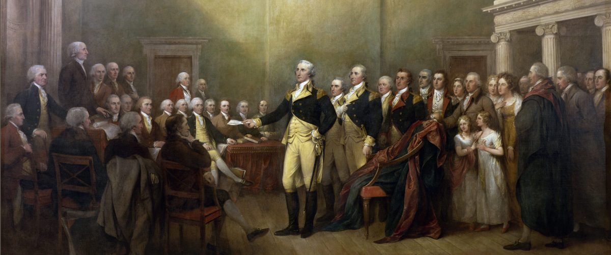 General Washington resigns