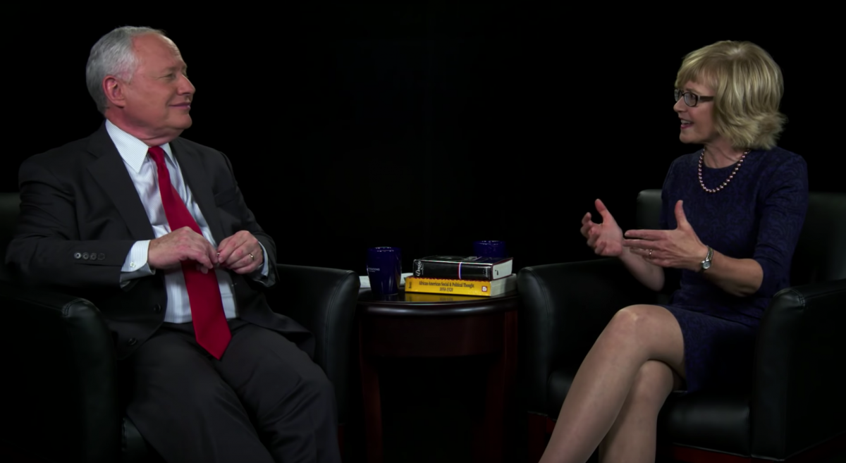Diana Schaub and Bill Kristol on Conversations with Bill Kristol