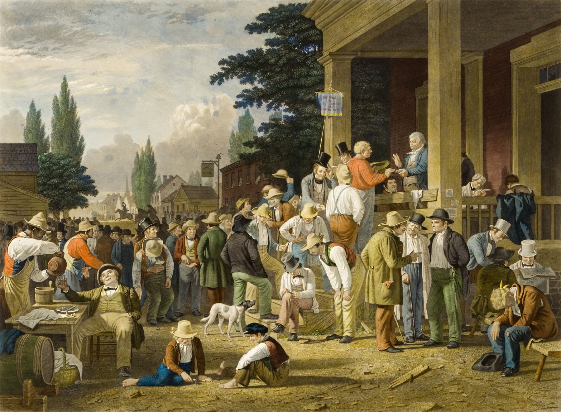 The County Election painting