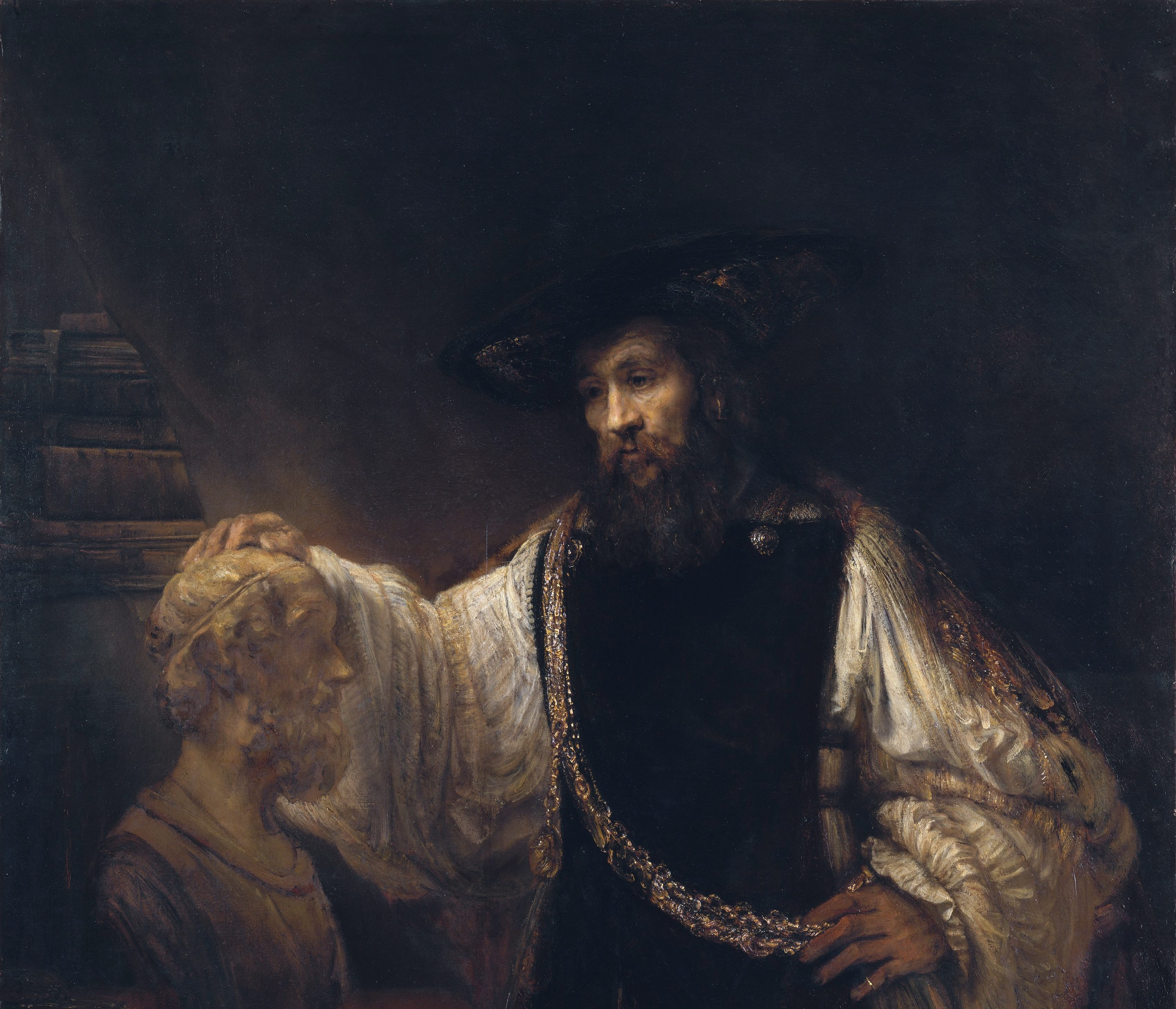 Aristotle by Rembrandt