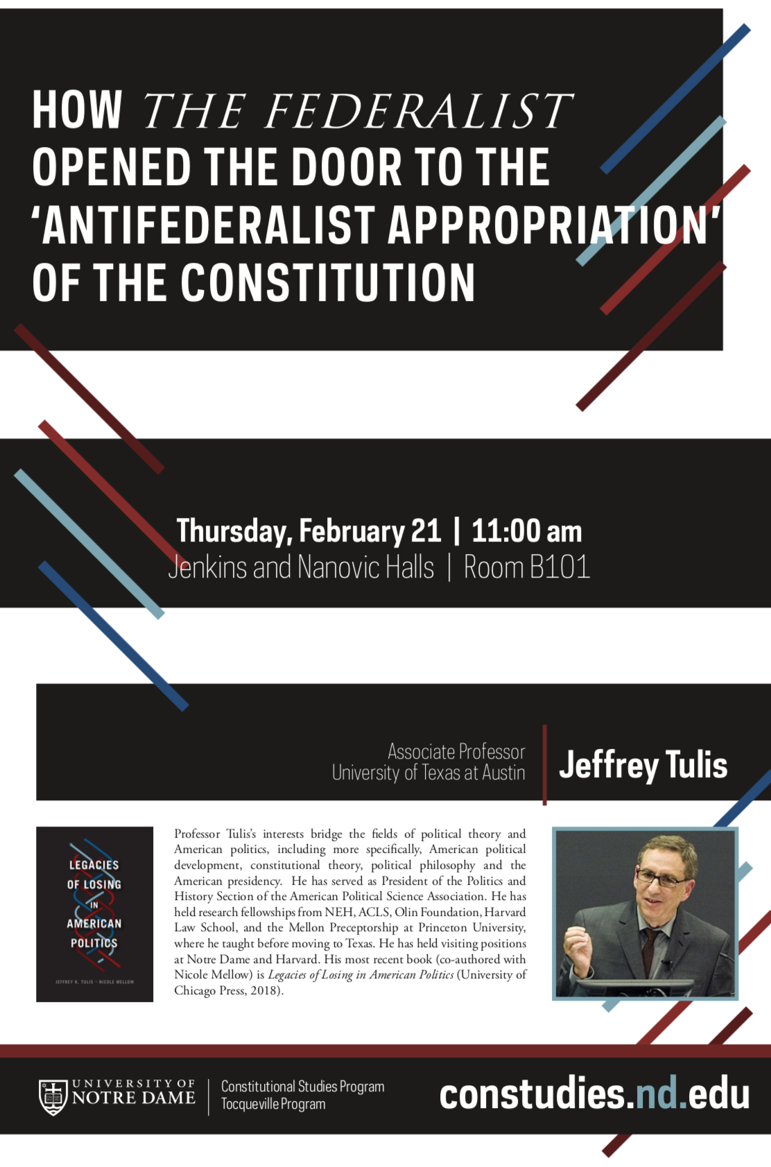 Tulis Lecture Poster