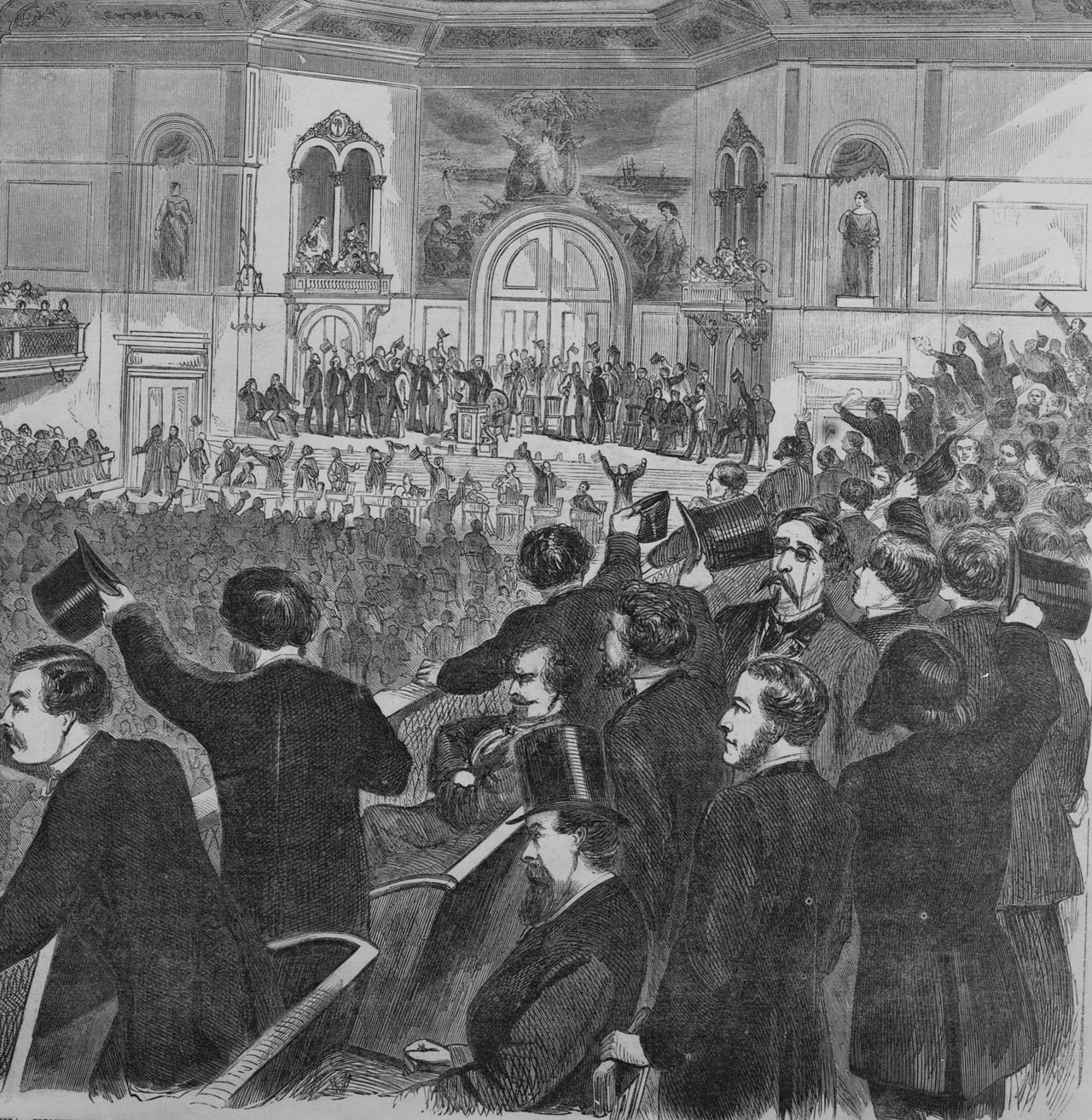 Democratic National Convention - 1860