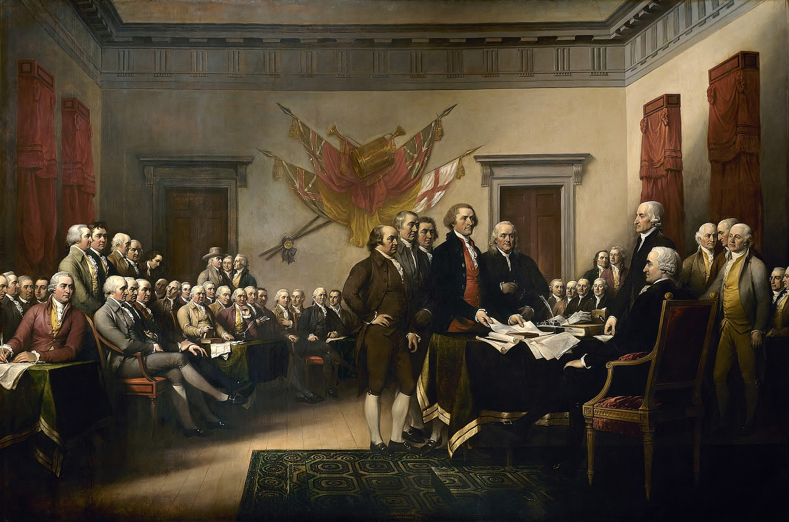Declaration of Independence, John Trumbull