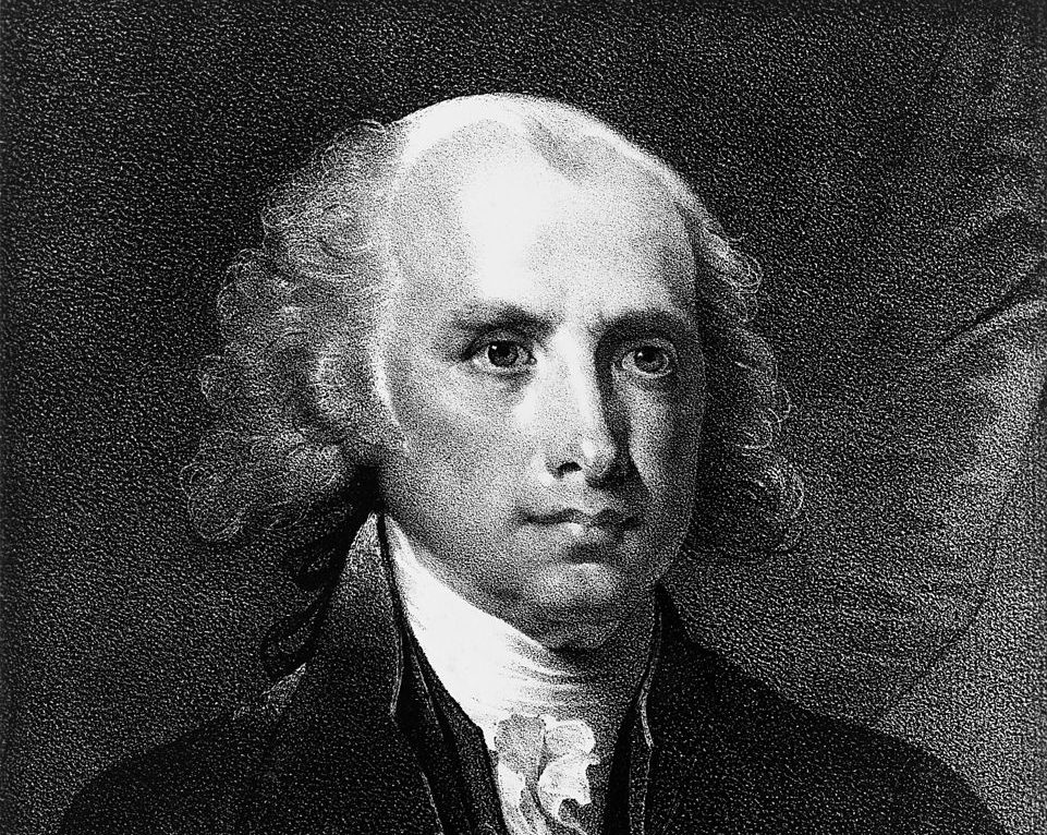 James Madison lithograph