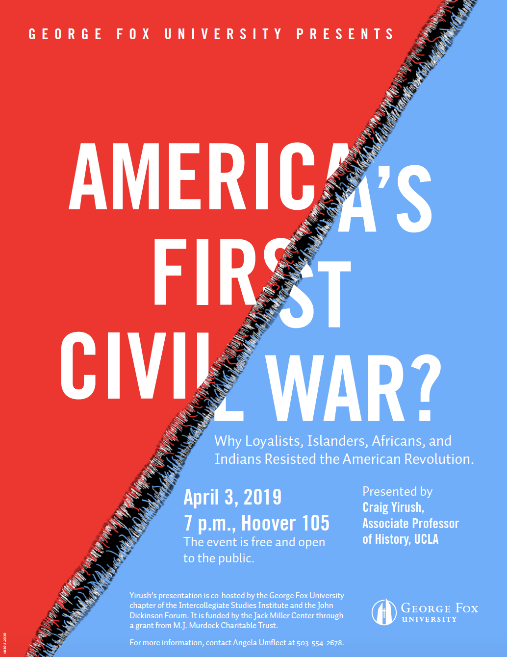 America's First Civil War? poster