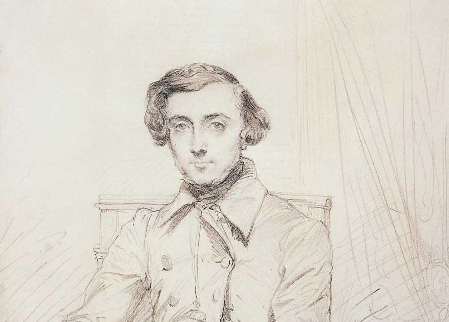 Tocqueville sketch - Theodore Chasseriau
