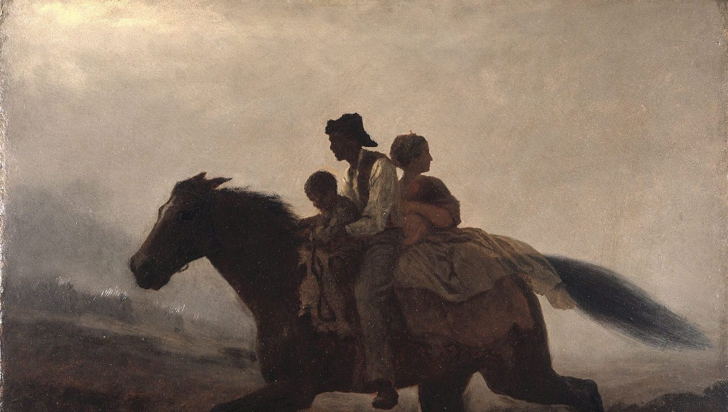 A Ride for Liberty, Eastman Johnson